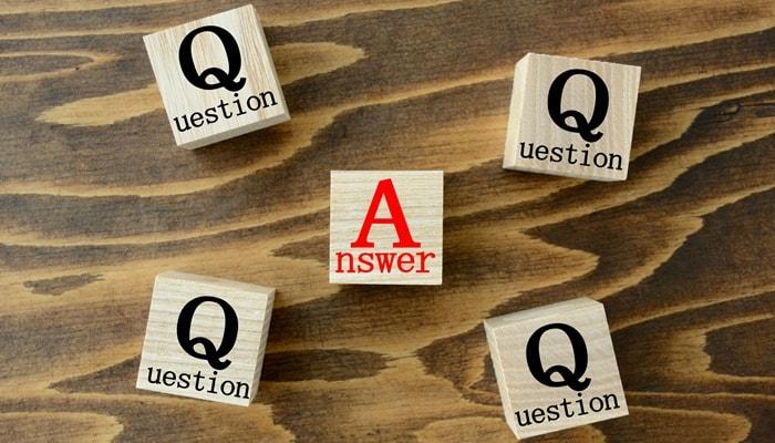初学者必須の質問回答サポート